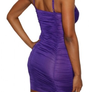 Purple Clubwear Dress