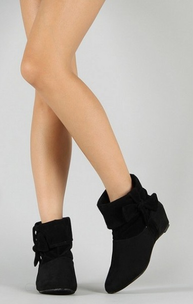 Liliana Barvo Bow Ankle Boot