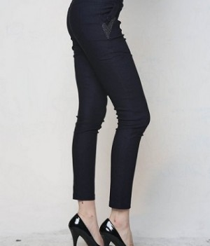 Navy Jeggings