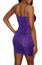 Purple Clubwear Dress