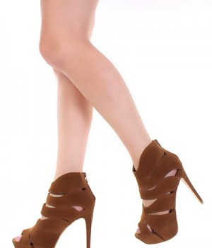 Shelly 4 Liliana high heels Tan