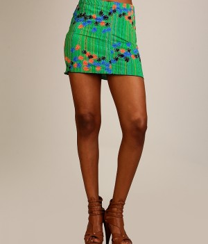 Tropical Mini Skirts