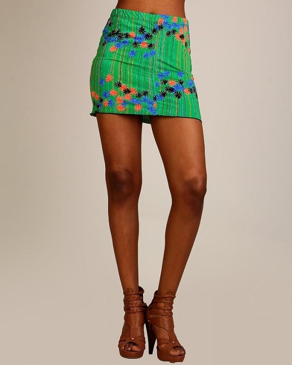 Tropical Mini Skirts