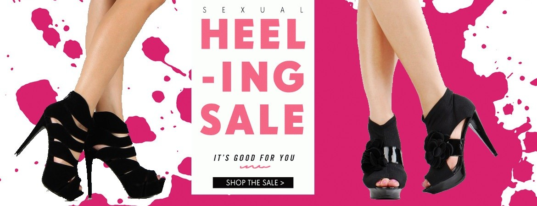 Heeling sale