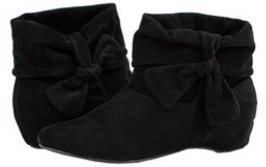 Liliana Barvo Bow Ankle Boot