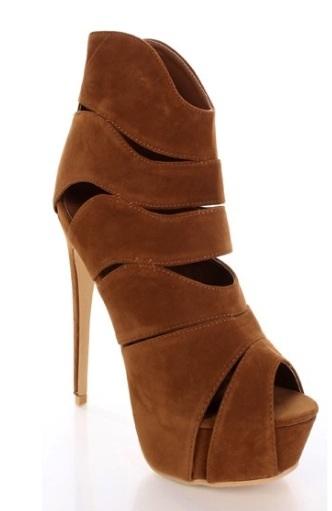Shelly 4 Liliana high heels Tan