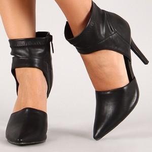 Breckelle Megan 25 Ankle Wrap Heels