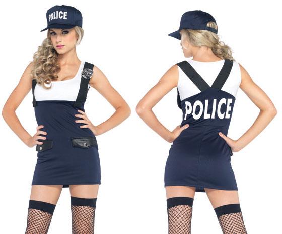 Sexy cop costume
