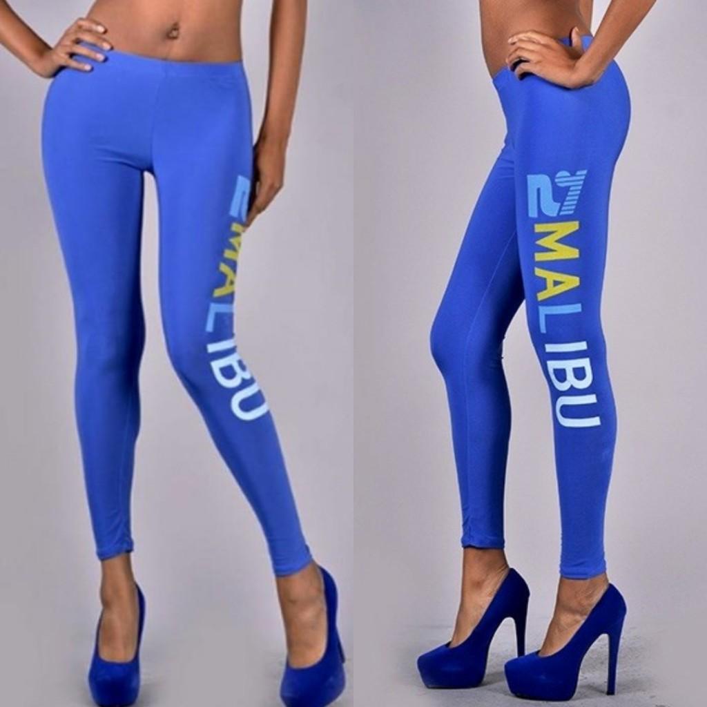 Blue Leggings Outfit