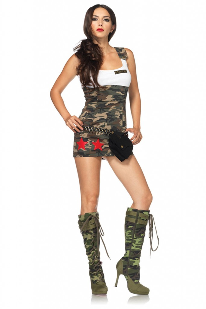 Sexy Army Costume