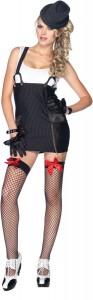 Gangster Girl Halloween Costume