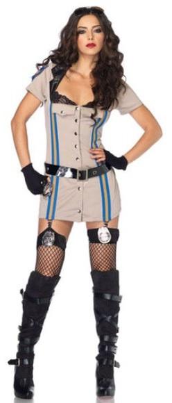 Highway Patrol Honey Costume