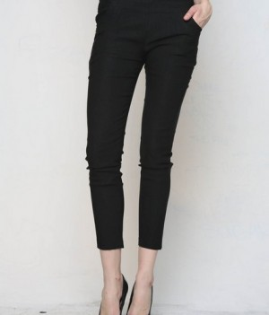 Cool Stretchy Jeggings Black
